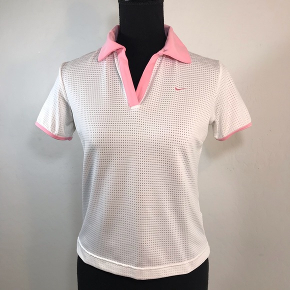 3179ee3b Nike Tops | Pink And White Sport Top | Poshmark